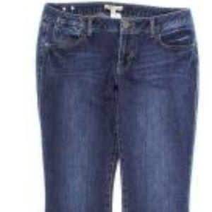 CAbi 514 Blue Moon Indie Jeans Sz 12